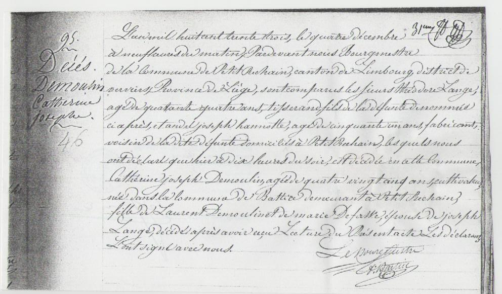 1833 deces cath demoulin