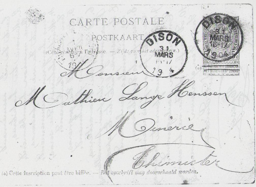 1904 math jos lange x comm carte