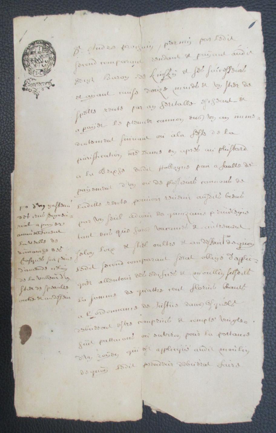 Acte 1686 remouchamps page interieure