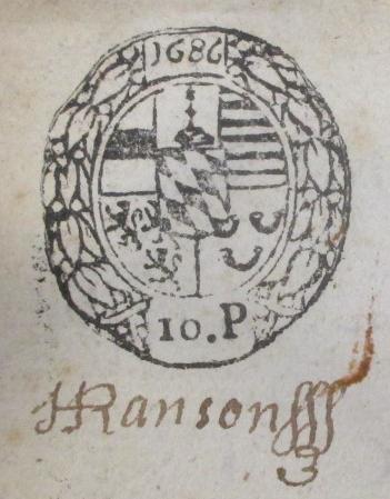 Acte 3 11 1684 moulin hollogne aux pierres sceau princ liege