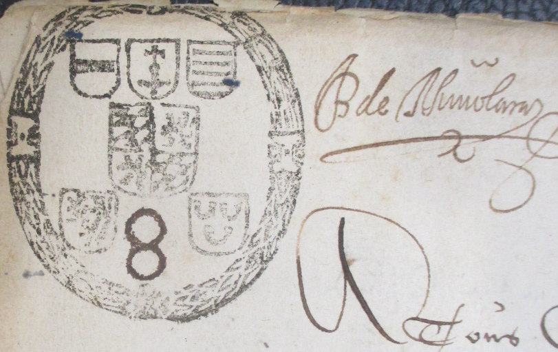 Acte 4 4 1650 moulin hollogne aux pierres sceau princ liege