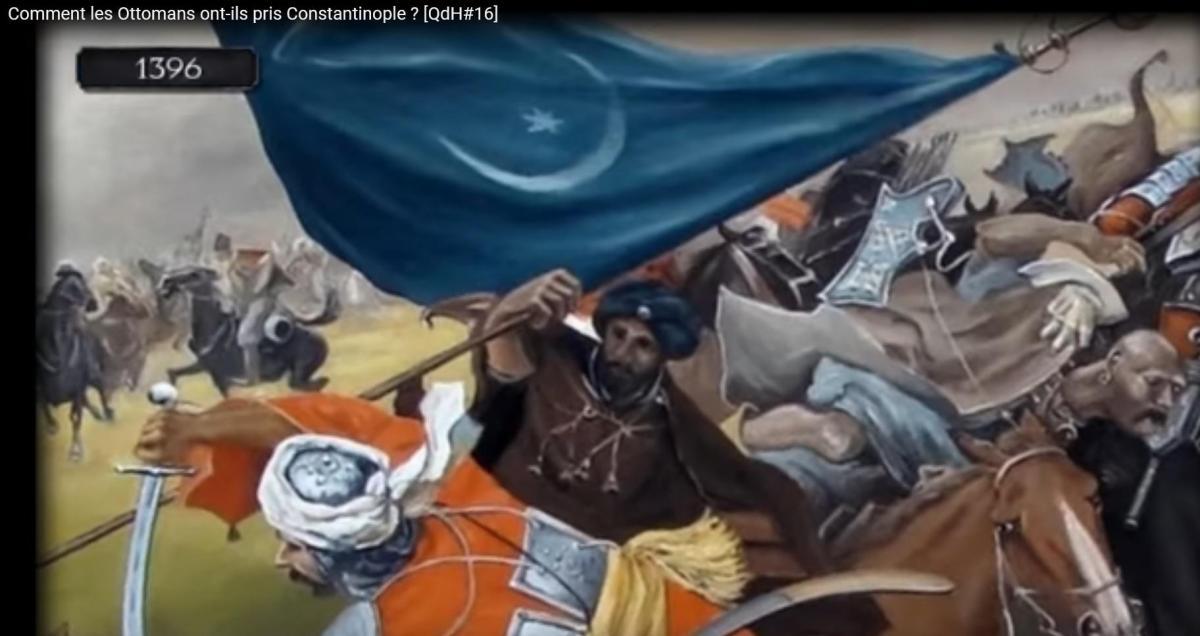 Ange comnene banniere byzance 1396 croisade