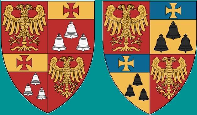 Arianiti komnene blasons albanais2 variantes