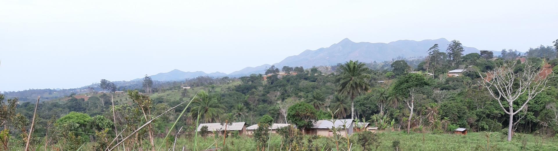 Bamena vue monts batchingou
