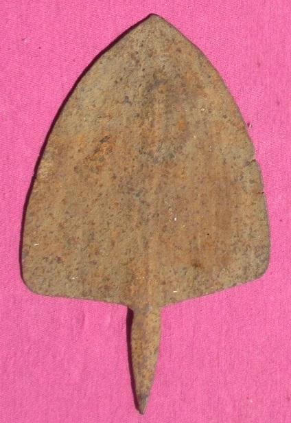 Bamileke ou mambila monnaie houe