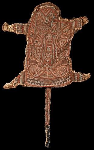 Bamileke peau de panthere ouvragee ancienne vendue par sothebys