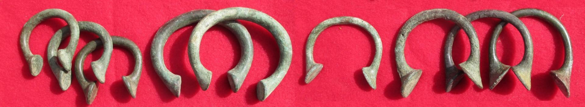 Bracelets manilles monetaires de birmingham bandelette
