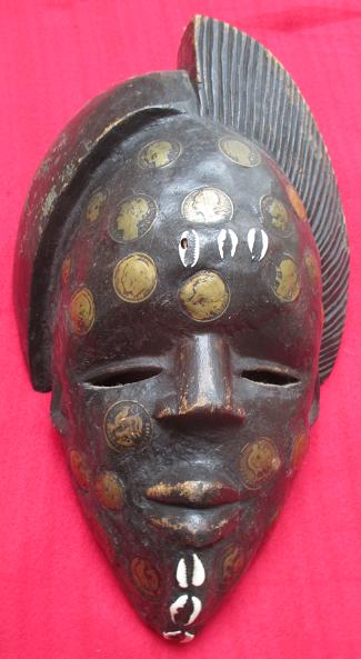 Cameroun masque monetaire bamoun