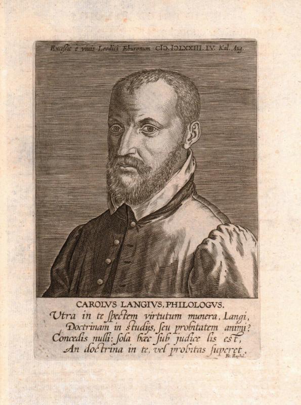 Carolus langius philologus