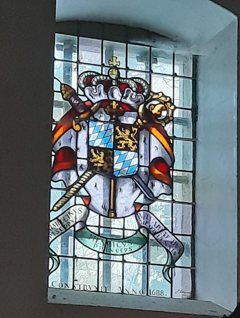 Chevremont chapelle des jesuites anglais armoiries max henri de baviere 1688
