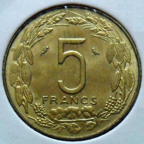 Cinq francs cfa