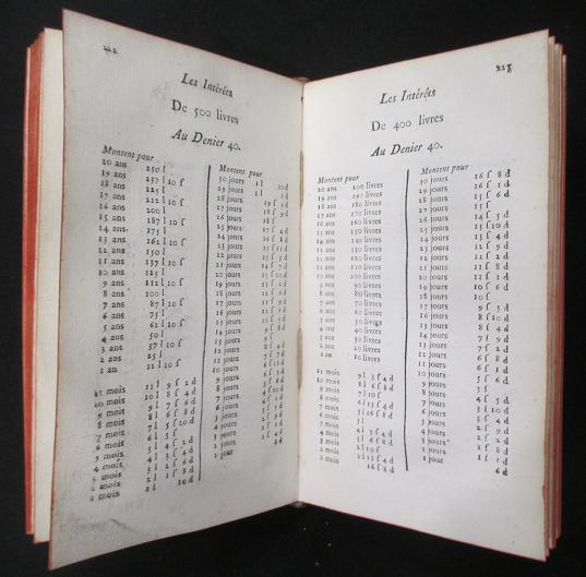 Compte fait 1761 barreme liste valeurs