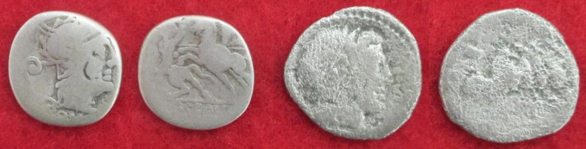 Deniers d argent monetaires republique romaine