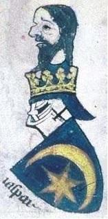 Gaspar roi mage armoiries imaginaires