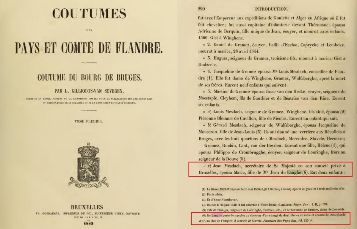 Gilliodts vanseveren coutumes des pays et comte de flandre 1883