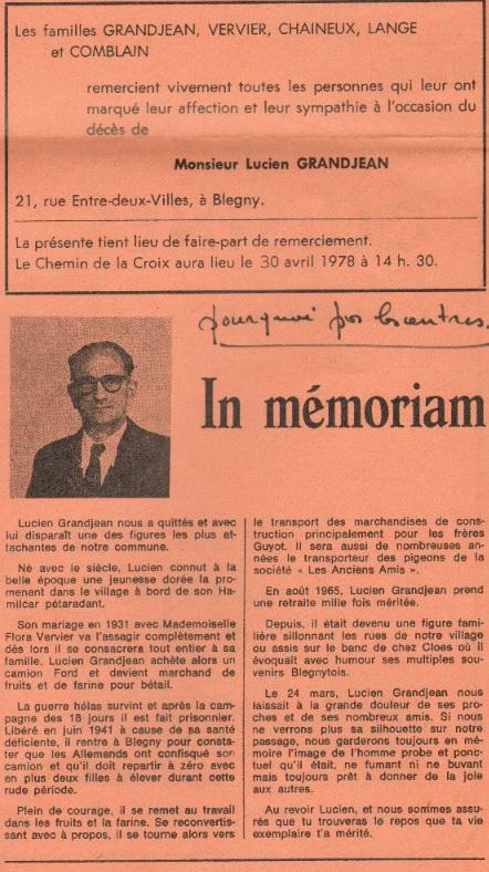 Grandjean lucien in memoriam 1978