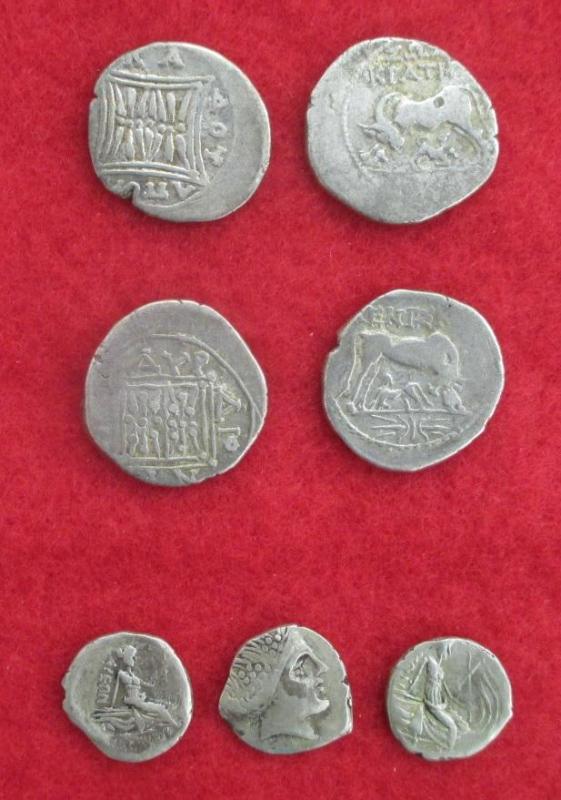 Illyrie et eubee monnaies grecques d argent