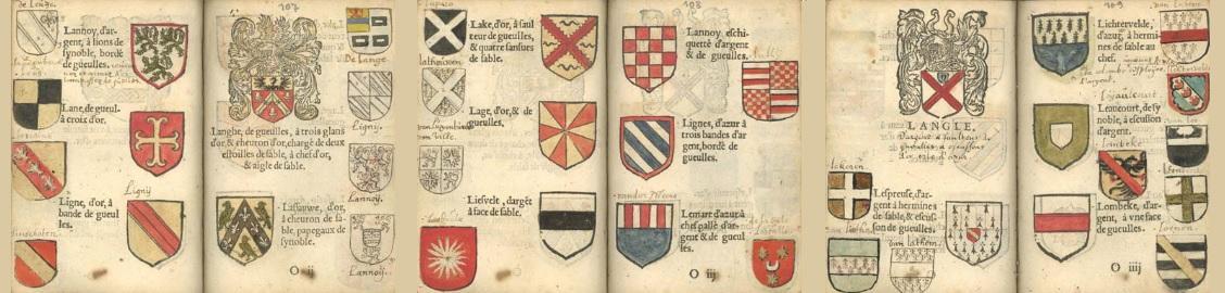 Jardin d armoiries gand 1567 par jean lautte