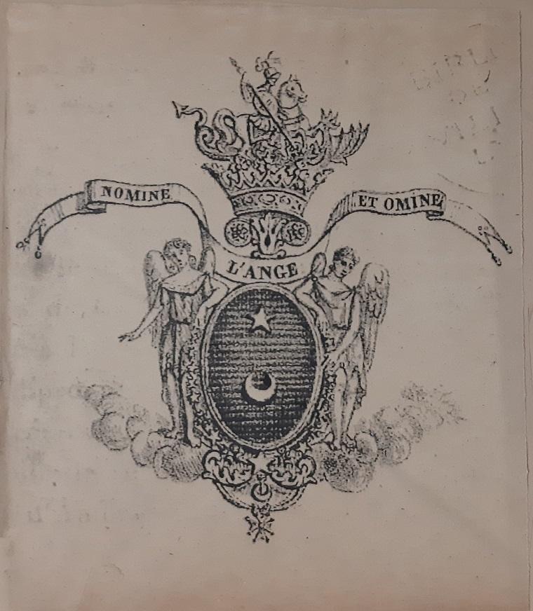 L ange comnene 1824