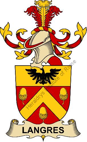 Langres blason et heaume heraldrys institute of rome