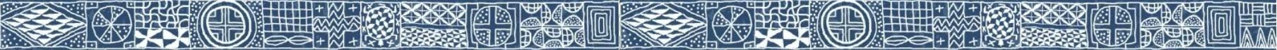 Ndop bandelette decorative horizontale
