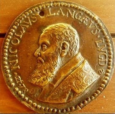 Nicolas de langes medaille