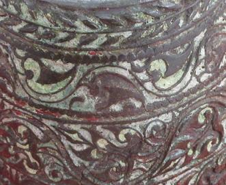Troncon d aiguillere detail motifs 1