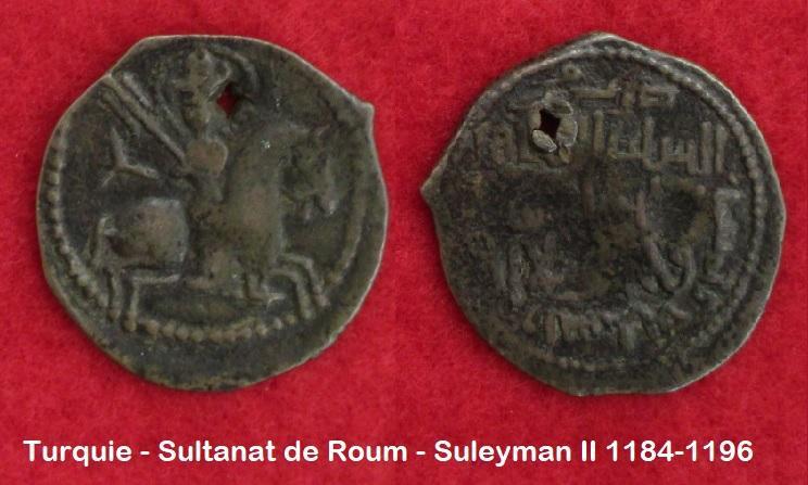 Turquie sultanat de roum suleyman ii 1184 1196